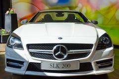 奔驰车SLK 200新一代 免版税库存图片