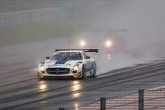 奔驰车SLS AMG GT3 库存照片