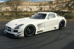 2014年奔驰车SLS AMG GT3 库存照片