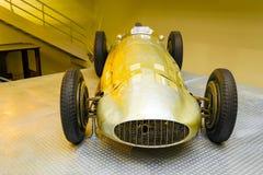 奔驰车W154,全国技术博物馆,布拉格,捷克 库存照片