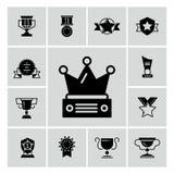 奖、战利品和奖黑象 库存例证