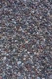 套不同的大小色的石头  免版税库存照片