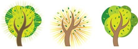 抽象树 免版税库存图片