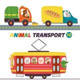 套与动物第10部分的被隔绝的运输 图库摄影