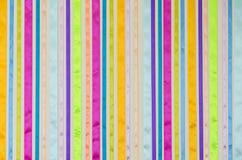 套五颜六色的丝带 免版税库存图片