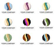 套企业商标 库存图片