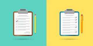 套传染媒介纸张文件象 能使用作为商标 向量例证