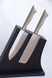 套厨房的刀子 库存图片