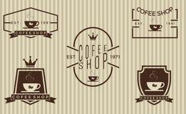 套咖啡店2 库存照片