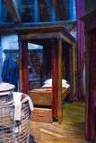 套哈利・波特和其他学生卧室在Hogwarts, 免版税库存照片