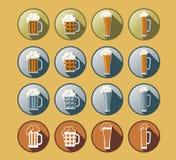 套啤酒象 图库摄影