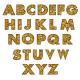 套大写字母 免版税图库摄影