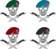 套大英国的特种部队的标志 库存照片