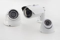 套安全监控相机 库存图片