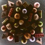 套巧克力candie, 库存图片