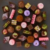 套巧克力candie, 免版税库存照片
