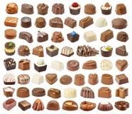 套巧克力candie 图库摄影