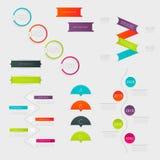 套有步的,时髦颜色五颜六色的正文框 免版税库存图片