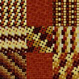 套木地板样式无缝的引起的纹理 向量例证