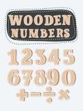 套木数字 向量例证