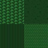 套样式对圣Patricks天 免版税库存图片