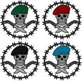 套特种部队的标志 免版税库存图片