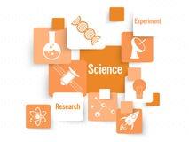 套科学标志和标志 图库摄影