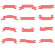 套简单的横幅-基本的非光滑的横幅 皇族释放例证