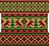 套老俄国装饰品。 免版税库存照片
