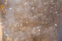 套自然矿物宝石 免版税库存图片