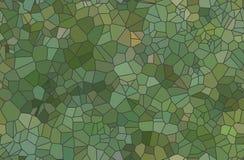 套色的抽象透明马赛克传染媒介 库存图片
