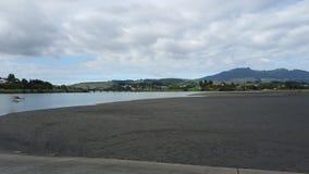 套袖大衣新西兰 库存图片