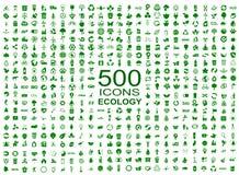 套500个生态象-传染媒介 图库摄影