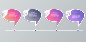 套infographic模板 皇族释放例证