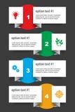 套infographics元素 图库摄影