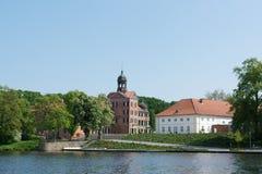 奥伊廷,德国城堡 免版税库存照片