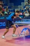 奥伦堡,俄罗斯- 03 04 2015年:乒乓球竞争 免版税图库摄影