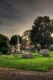 奥克兰公墓 图库摄影