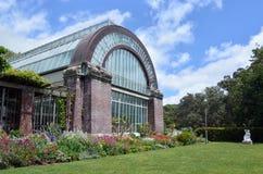 奥克兰冬天庭院在奥克兰新西兰 免版税库存照片