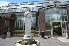 奥克兰冬天庭院在奥克兰新西兰 图库摄影