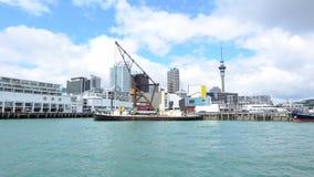 奥克兰地平线,新西兰 影视素材