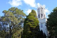 奥克兰大学的Clocktower 库存图片