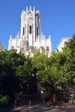 奥克兰大学钟楼大厦  免版税库存照片