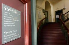 奥克兰市议会城镇厅-新西兰 免版税库存照片
