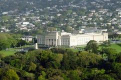 奥克兰战争纪念建筑博物馆在奥克兰NZ 库存照片