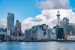 奥克兰新西兰都市风景视图全景 图库摄影