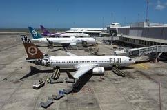奥克兰机场-新西兰 库存照片