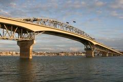 奥克兰桥梁habour 免版税库存图片