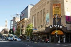 奥克兰民事剧院-新西兰 库存图片