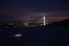 奥克兰海湾桥梁旧金山 库存图片